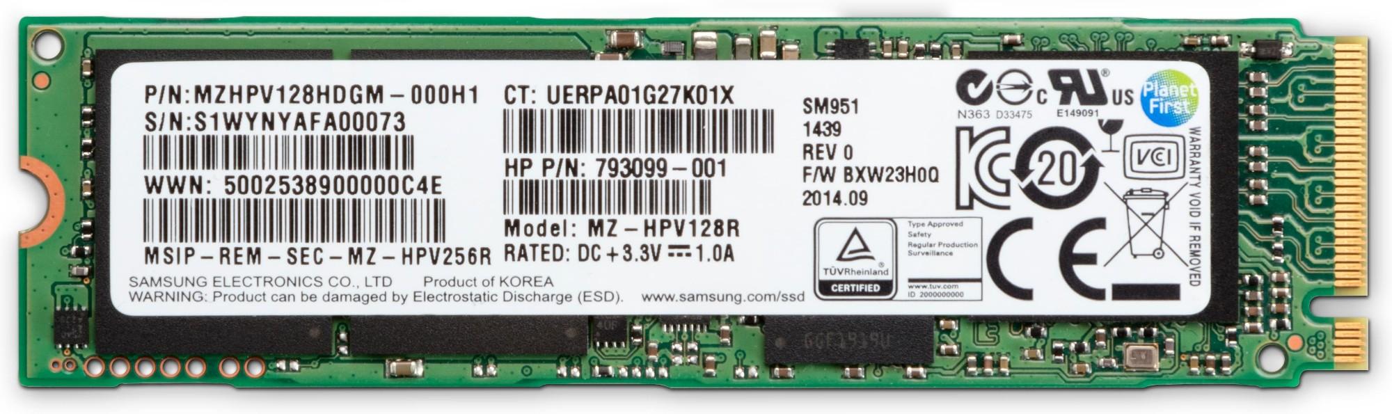 HP Z Turbo Drive Quad Pro 512GB SSD module