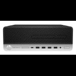 HP ProDesk 600 G3 7th gen Intel® Core™ i7 i7-7700 8 GB DDR4-SDRAM 256 GB SSD SFF Black,Silver PC Windows 10 Pro