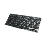 iogear KeySlate Bluetooth QWERTY English Silver keyboard