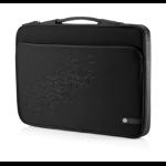 HP 16 Black Cherry Notebook Sleeve