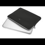 "Trust 21248 notebook case 39.6 cm (15.6"") Sleeve case Black"