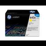 HP 643A Origineel Geel 1 stuk(s)