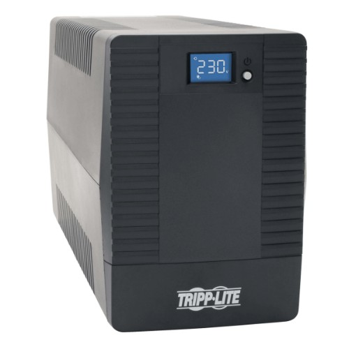Tripp Lite UPS 1000VA 600W Battery Back Up Tower AVR 230V Line-Interactive with 8 C13 Outlets - C14 Inlet, LCD, USB, Tower