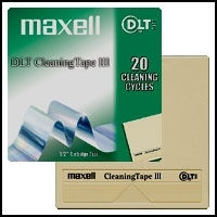 Maxell DLT Cleaning Tape