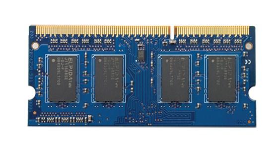 HP 4GB PC3-12800 4GB DDR3 1600MHz memory module