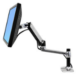 "Ergotron LX Series Desk Mount LCD Arm 81.3 cm (32"") Black"