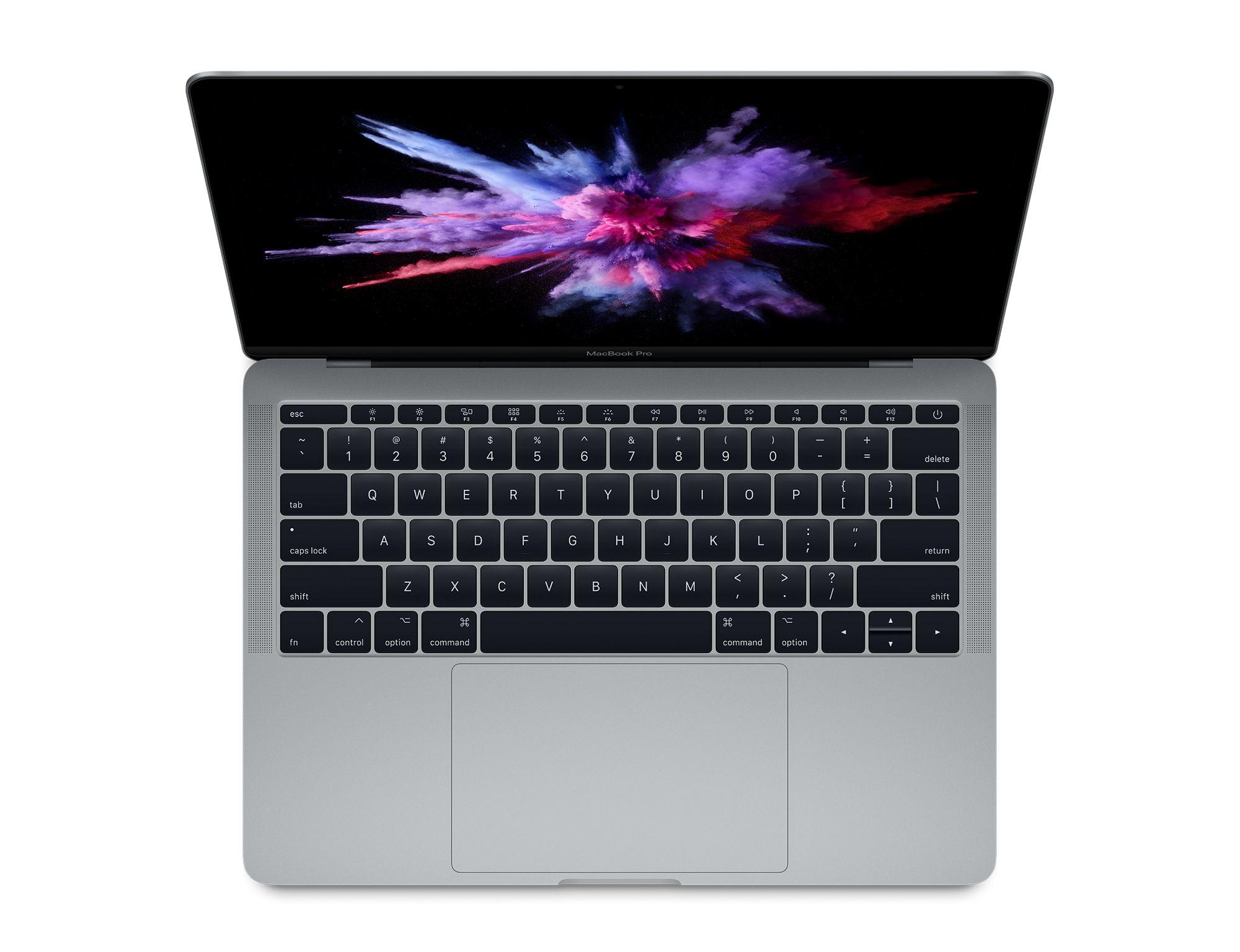 "Apple MacBook Pro Grey Notebook 33.8 cm (13.3"") 2560 x 1600 pixels 2.5 GHz 7th gen Intel® Core™ i7 i7-7660U"