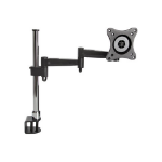 "Proper Classic PC Monitor Desk Mount for 19""-27"" 27"" Clamp Black"