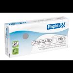 RAPID STAPLES RAPID 26/6 PK1000