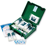 Wallace Green Box HS1 First-Aid Kit Traditional 10 Person Ref 1002278