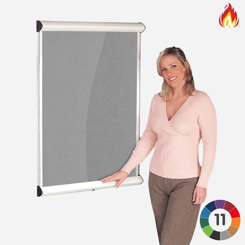 Metroplan LCL1/WH/LB insert notice board