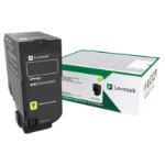 Lexmark 75B20Y0 Toner yellow, 10K pages