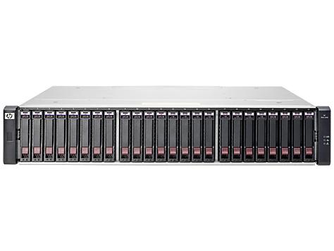 Hewlett Packard Enterprise MSA 2040 Energy Star SFF Chassis disk array Rack (2U)