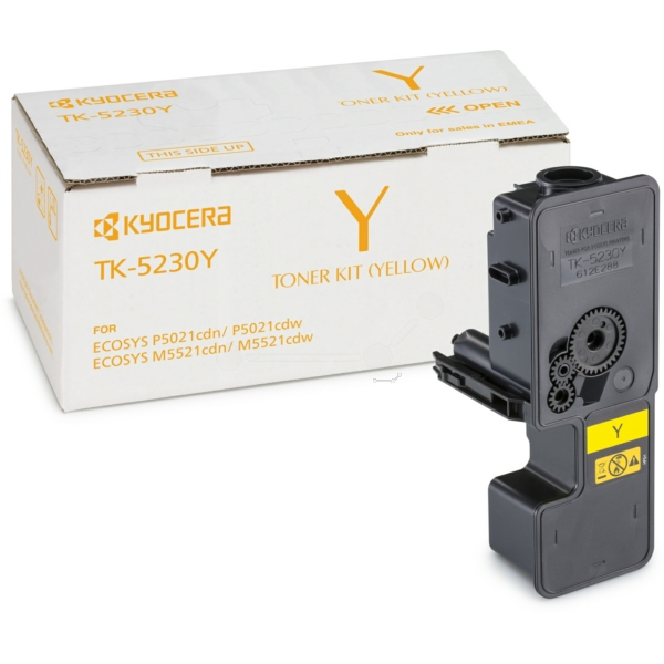 KYOCERA 1T02R9ANL0 (TK-5230 Y) Toner yellow, 2.2K pages