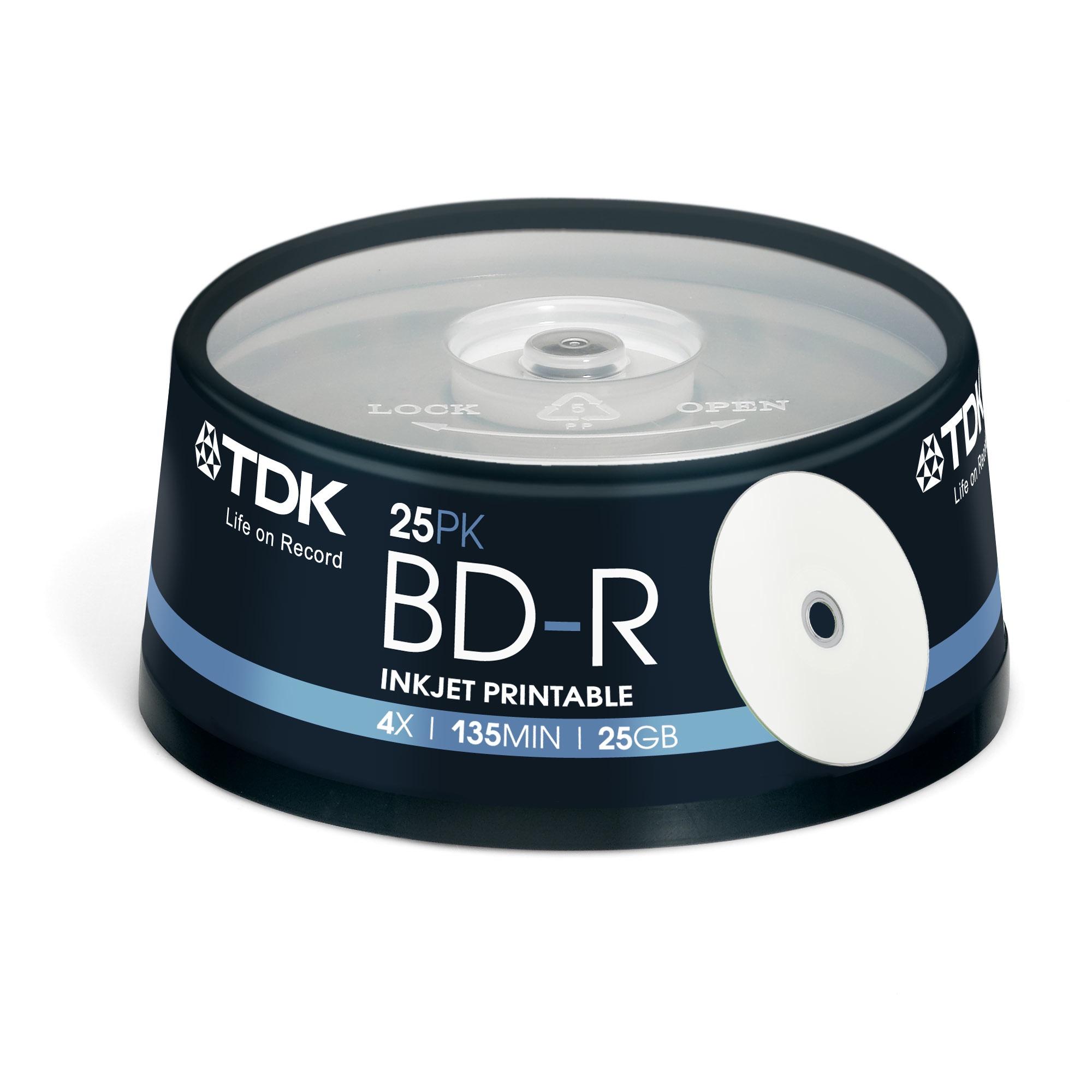 TDK 25 x BD-R 25GB 25GB BD-R 25pc(s)