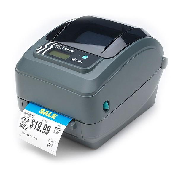 Zebra GX420t labelprinter Direct thermisch/Thermische overdracht 203 x 203 DPI