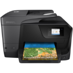 HP OfficeJet Pro 8710 AiO 4800 x 1200DPI Thermal Inkjet A4 22ppm Wi-Fi Black multifunctional