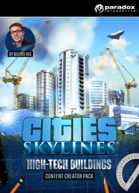 Nexway Cities: Skylines - Content Creator Pack: High-Tech Buildings Video game downloadable content (DLC) PC/Mac/Linux Español