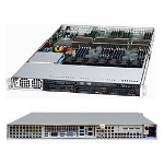 Supermicro SuperChassis 818A-1400B Rack 1400W Black