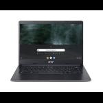 """Acer Chromebook C933-C6YY Black 35.6 cm (14"""") 1366 x 768 pixels Intel® Celeron® 4 GB LPDDR4-SDRAM 32 GB Flash Wi-Fi 5 (802.11ac) Chrome OS"""