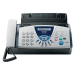 Brother FAX-T104 Thermal 9.6Kbit/s A4 Black,Silver fax machine