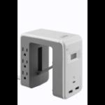 APC PE6U21W power distribution unit (PDU) 6 AC outlet(s) White