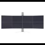 "SMS Smart Media Solutions MM051005-P0 24"" Clamp Aluminium,White flat panel desk mount"