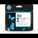 HP 744 DesignJet Druckkopf Fotoschwarz/Cyan