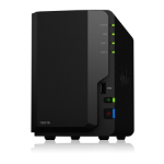 Synology DS218/2TB-RED 2 Bay NAS