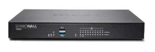 SonicWall TZ600 hardware firewall 1500 Mbit/s
