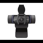 Logitech C920s HD PRO cámara web 1920 x 1080 Pixeles Negro