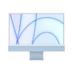 "Apple iMac 61 cm (24"") 4480 x 2520 Pixeles Apple M 8 GB 512 GB SSD PC todo en uno macOS Big Sur Wi-Fi 6 (802.11ax) Azul"