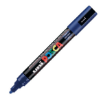 Uni Posca PC-5M Marker Medium Blue PK1