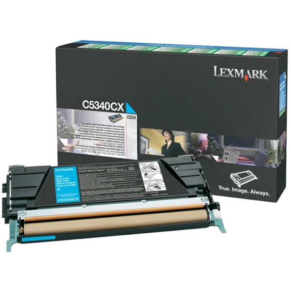 Lexmark C5340CX Toner cyan, 7K pages @ 5% coverage