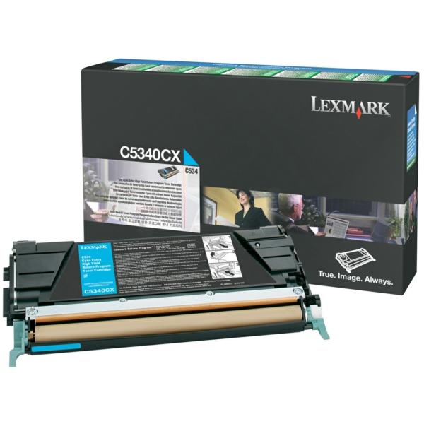 Lexmark C5340CX Toner cyan, 7K pages @ 5% coverage