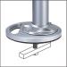 Newstar Grommet plate for desk mount