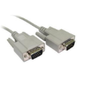 Cables Direct 2m D9/HD15 serial cable D9 M HD 15 M