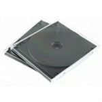 Q-CONNECT Q CONNECT CD JEWEL CASES BLACK/CLEAR P10