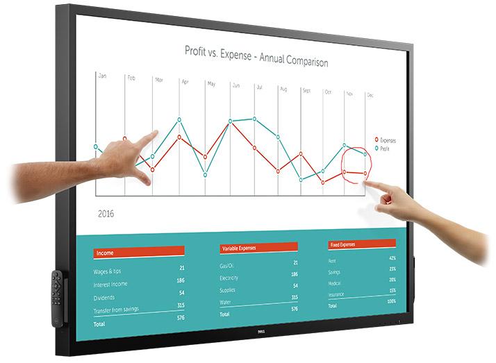 Desktop Monitor - C7017t - 70in - 1920x1080 (full Hd) - Black