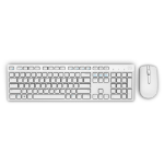 DELL KM636 keyboard RF Wireless QWERTY English White