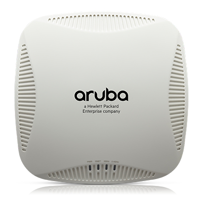 Aruba, a Hewlett Packard Enterprise company AP-205 1000Mbit/s Power over Ethernet (PoE) White WLAN access point