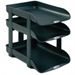 Rexel Agenda2 In-Out 55mm Letter Tray Charcoal