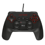 Trust GXT 540 Gamepad PC,Playstation 3 Black