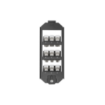 Digitus AN-25179 Black switch plate/outlet cover