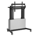 """Vogel's PFTE 7121 TOUCH TABLE CBNT 85"""" Portable flat panel floor stand Silver"""