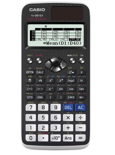 Casio FX-991EX calculator Pocket Scientific Black,White