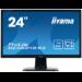 "iiyama ProLite B2483HS-B3 LED display 61 cm (24"") Full HD Flat Matt Black"