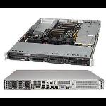 Supermicro SuperServer 6018R-WTR Intel® C612 LGA 2011 (Socket R) Rack (1U) Black