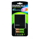 Duracell CEF27EU Indoor battery charger Black battery charger