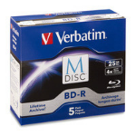 Verbatim 98900 blank Blu-Ray disc BD-R 25 GB 5 pcs